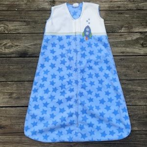 Halo Blue & White Rocket Space Sleep Sack